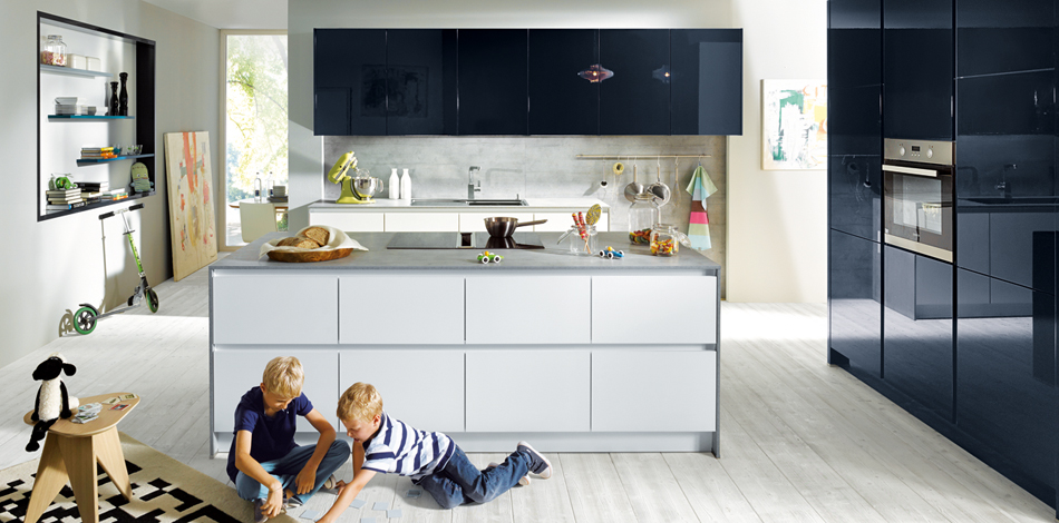 Glasline Matt   West London Kitchens