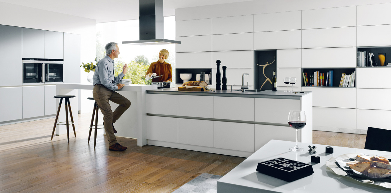 Schuller Kitchen - Glasline Matt