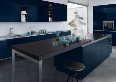 NX 501 Indigo blue high gloss
